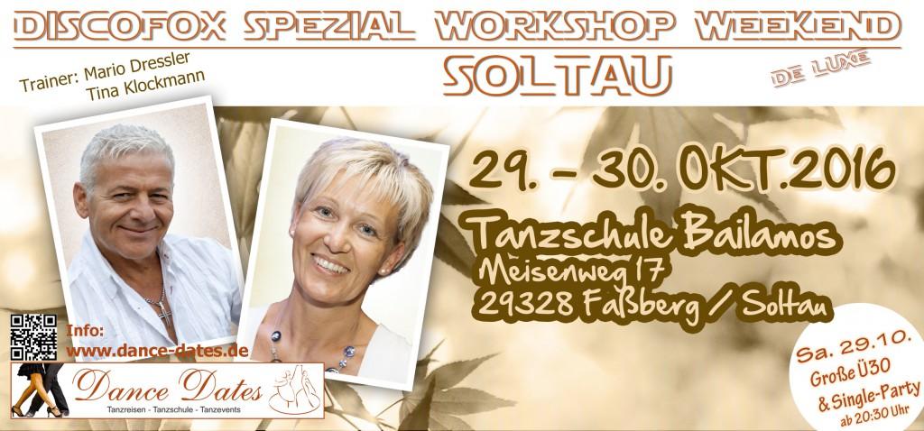 Disco Fox Spezial Workshop Weekend de Luxe in Soltau @ Tanzschule Bailamos   Faßberg   Niedersachsen   Deutschland