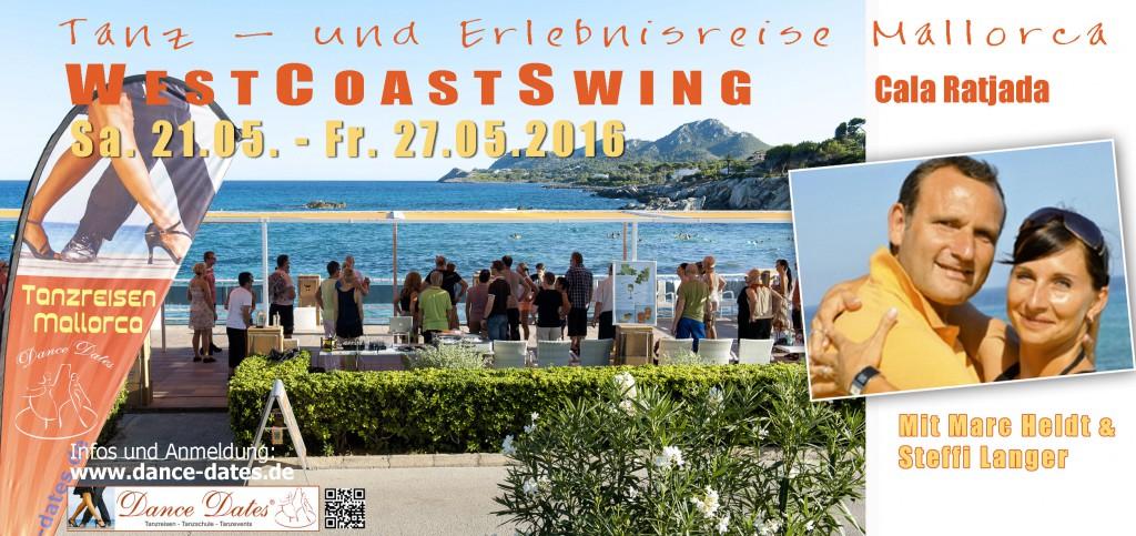 Tanz- & Erlebnisreise West Coast Swing Mallorca @ Mallorca | Cala Ratjada | Illes Balears | Spanien