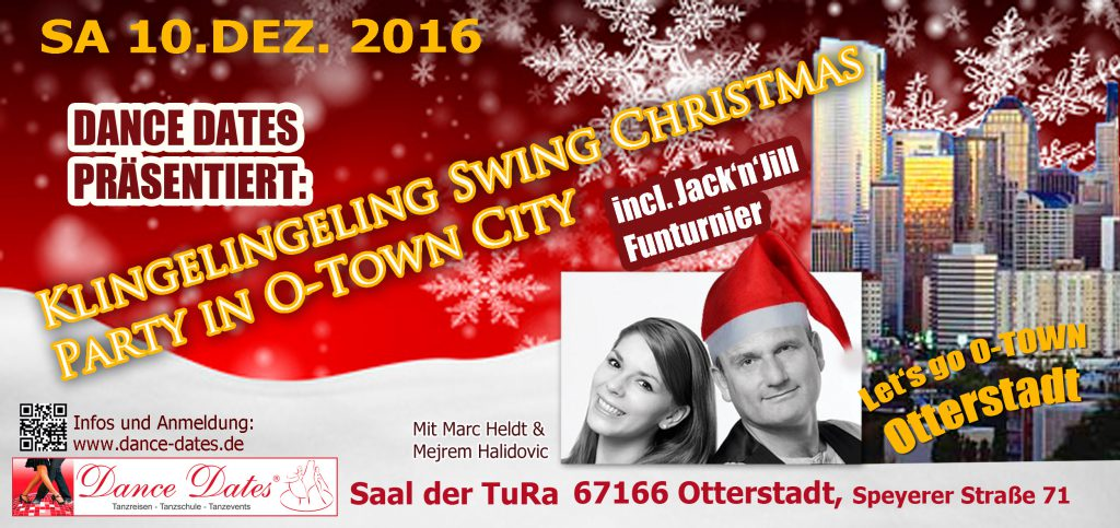 Klingelingeling Swing Christmas Party in O-Town City @ Saal der TuRa Otterstadt | Otterstadt | Rheinland-Pfalz | Deutschland