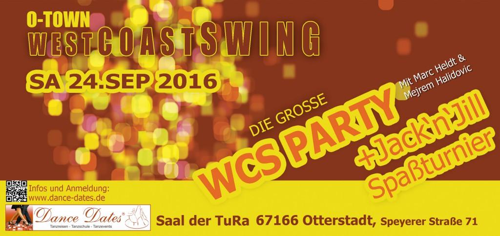 Die Grosse WCS Party & Jack ´n´Jill Spassturnier in Otterstadt / Speyer @ Saal der TuRa Otterstadt | Otterstadt | Rheinland-Pfalz | Deutschland