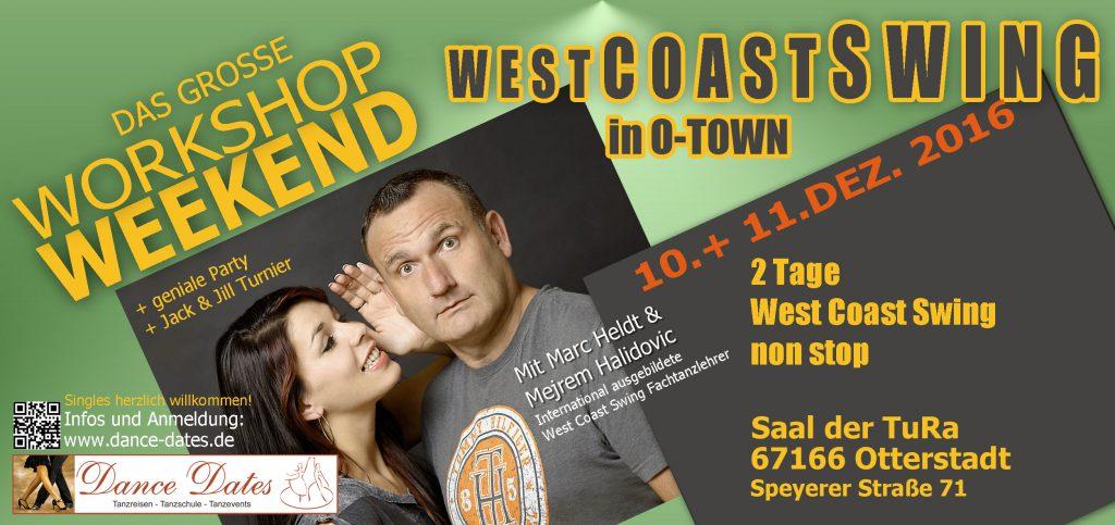 Das grosse West Coast Swing Workshop Weekend in Otterstadt / Speyer @ Saal der TuRa Otterstadt | Otterstadt | Rheinland-Pfalz | Deutschland
