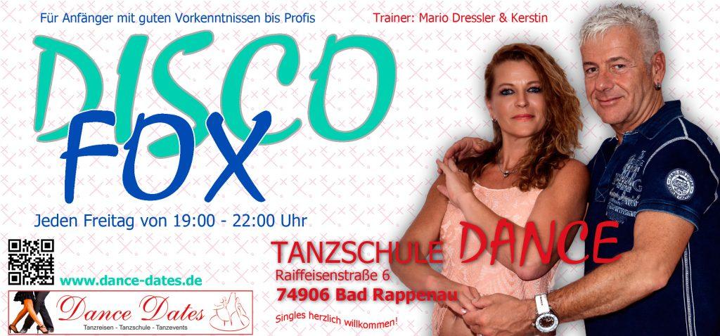 Disco Fox Tanzkurs Saison 2016 in der Tanzschule Dance in Bad Rappenau @ Tanzschule Dance   Bad Rappenau   Baden-Württemberg   Deutschland
