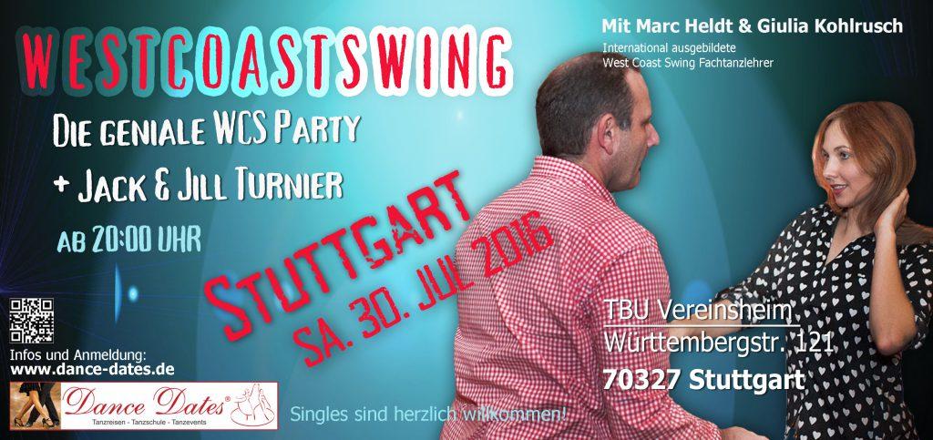 Die Grosse WCS Party & Jack ´n´Jill Spassturnier in Stuttgart @ Gaststätte TBU Vereinsheim   Stuttgart   Baden-Württemberg   Deutschland