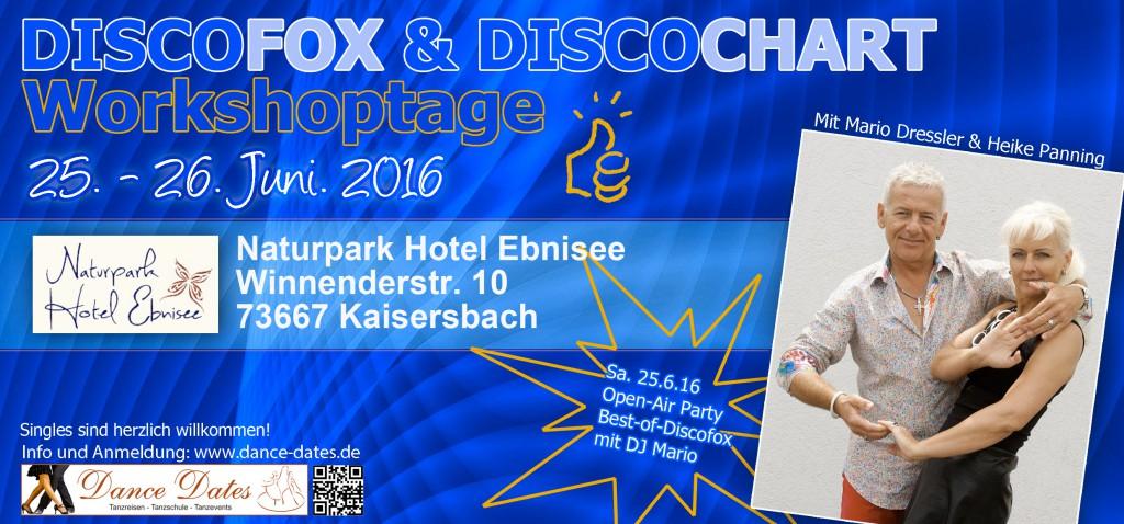 ABGESAGT: Disco Fox & Disco Chart Workshop Tage am schönen Ebnisee bei Stuttgart @ Naturpark Hotel Ebnisee | Kaisersbach | Baden-Württemberg | Deutschland