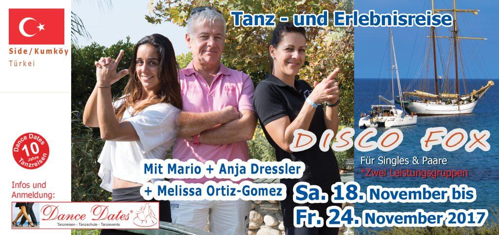 Disco Fox Tanzreise Türkei – November 2017