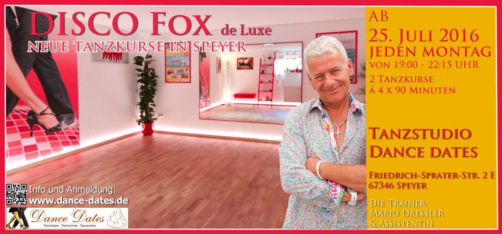 START: Disco Fox de Luxe Kurs in Speyer @ Speyer | Rheinland-Pfalz | Deutschland