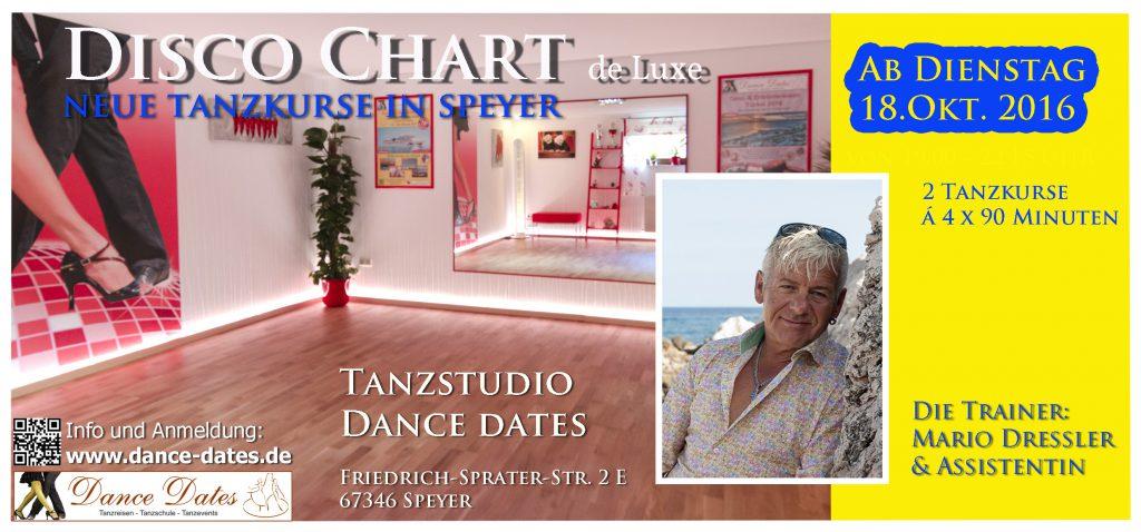 LAUFENDER KURS: Disco Chart de Luxe Kurse in Speyer