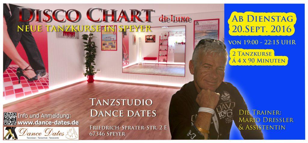 START: Disco Chart de Luxe Kurse in Speyer