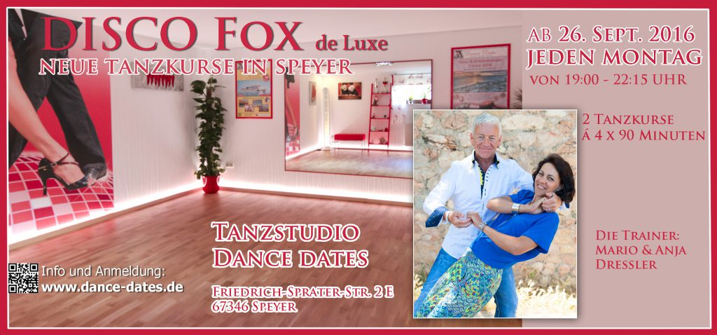 START: Disco Fox de Luxe Kurse in Speyer
