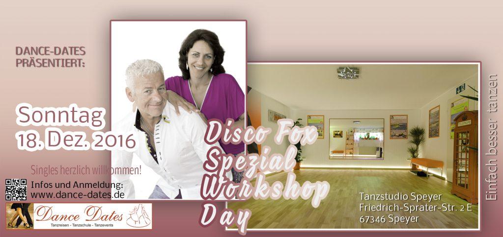 Disco Fox Spezial Workshop Day in Speyer @ Tanzstudio Dance Dates