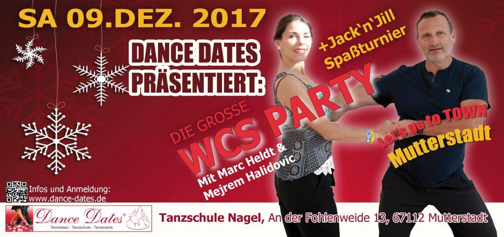 WCS Party & Jack ´n´ Jill Fun Turnier in Mutterstadt @ Tanzschule Nagel | Mutterstadt | Rheinland-Pfalz | Deutschland