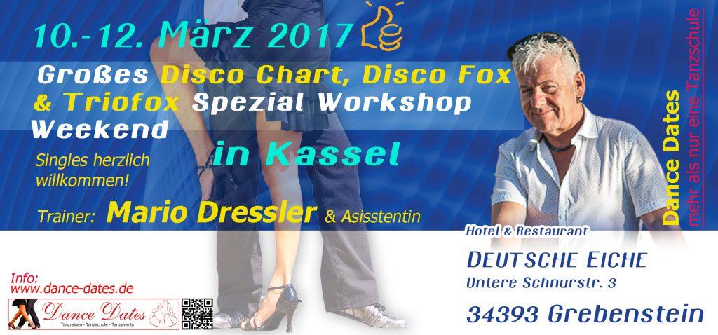 Großes Disco Fox & Disco Chart Spezial Workshop Weekend in Kassel @ Grebenstein | Hessen | Deutschland