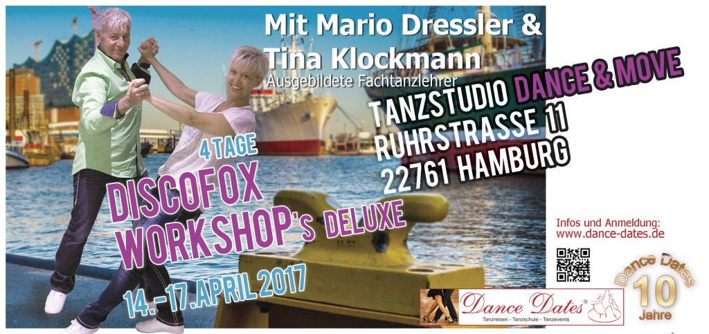 Disco Fox & Disco Chart Workshop Tage Ostern in Hamburg @ Tanzstudio Dance & Move | Hamburg | Hamburg | Deutschland