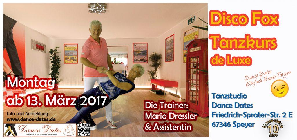 START: Disco Fox de Luxe Kurse in Speyer @ Speyer | Rheinland-Pfalz | Deutschland