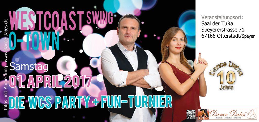 WCS Party & Jack ´n´ Jill Fun Turnier in O-Town City @ Saal der TuRa | Otterstadt | Rheinland-Pfalz | Deutschland