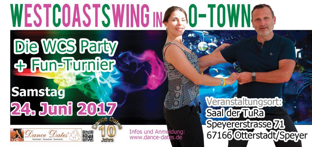 WCS Party & Jack ´n´ Jill Fun Turnier in O-Town City @ Saal der TuRa Otterstadt | Otterstadt | Rheinland-Pfalz | Deutschland