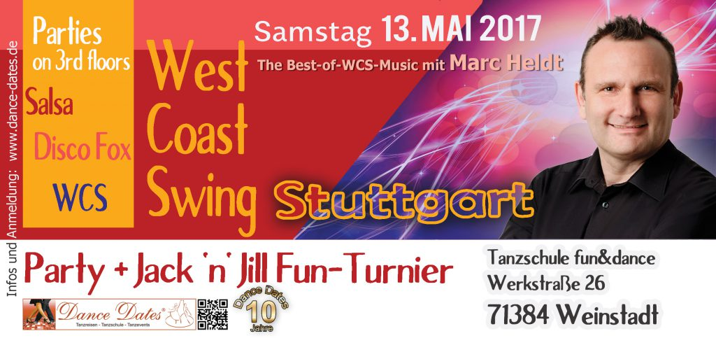 WCS Party & Jack ´n´ Jill Fun Turnier in Stuttgart @ Tanzschule fun&dance  | Weinstadt | Baden-Württemberg | Deutschland
