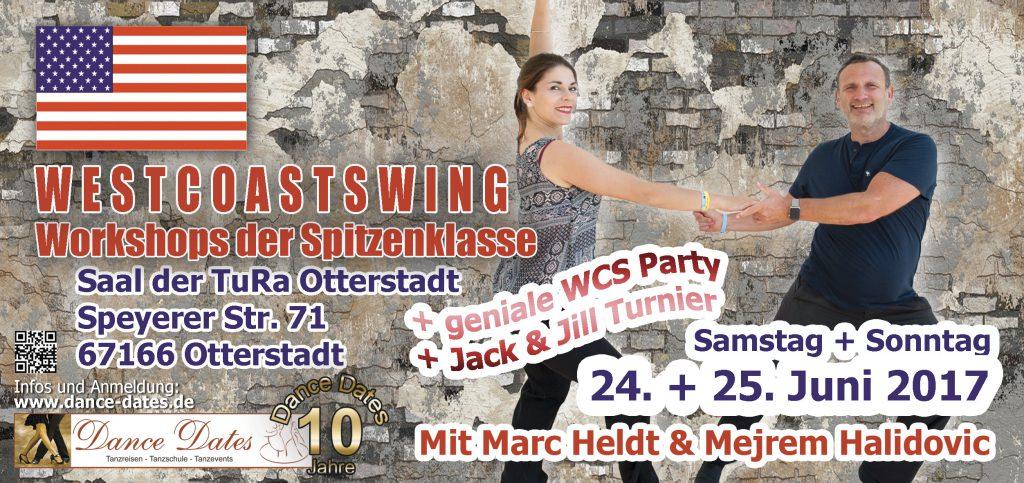West Coast Swing Workshop Weekend in O-Town City / Speyer @ Saal der TuRa Otterstadt | Otterstadt | Rheinland-Pfalz | Deutschland