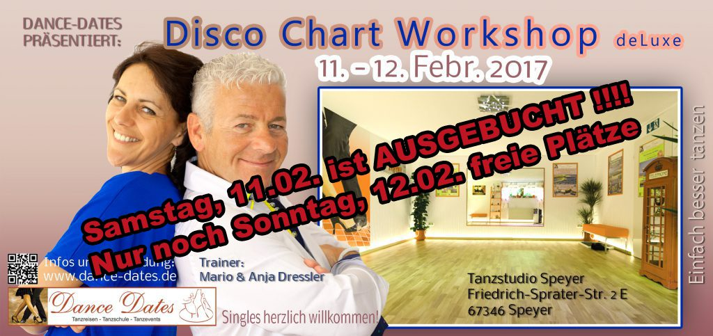 Disco Chart Workshop Tage in Speyer @ Tanzstudio Dance Dates | Speyer | Rheinland-Pfalz | Deutschland