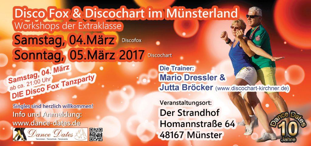 Disco Fox & Disco Chart Workshop Weekend der Extraklasse in Münster @ Münster | Nordrhein-Westfalen | Deutschland