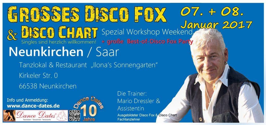 "Großes Disco Fox & Disco Chart Spezial Workshop Weekend in Neunkirchen / Saar @ Tanzlokal & Restaurant ""Ilona´s Sonnengarten"" | Neunkirchen | Saarland | Deutschland"