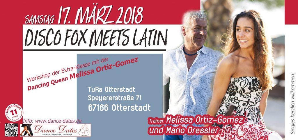 HAMMER: Fox meets Latin – Disco Fox Workshops der Extraklasse @ Saal der TuRa Otterstadt | Otterstadt | Rheinland-Pfalz | Deutschland