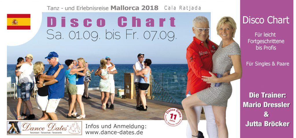Disco Chart Tanzreise Mallorca