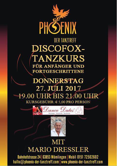 Discofox-Tanzkurs im Phoenix @ Tanztreff Phoenix | Mömlingen | Bayern | Deutschland