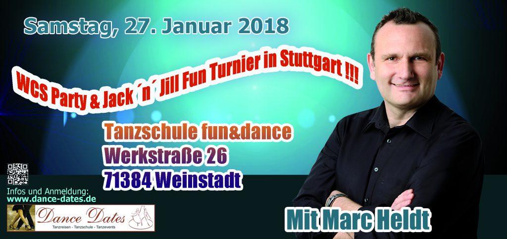 WCS Party & Jack'n'Jill Fun Turnier @ Tanzschule fun&dance | Weinstadt | Baden-Württemberg | Deutschland
