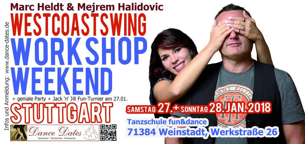 WCS Workshop Weekend Stuttgart @ Tanzschule fun&dance | Weinstadt | Baden-Württemberg | Deutschland