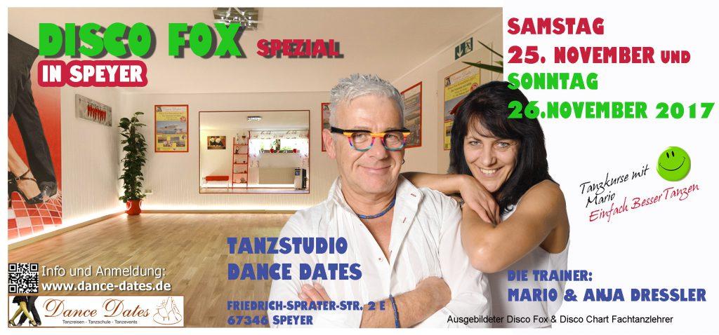 Disco Fox Spezial Workshop Weekend in Speyer @ Tanzstudio Dance Dates | Speyer | Rheinland-Pfalz | Deutschland