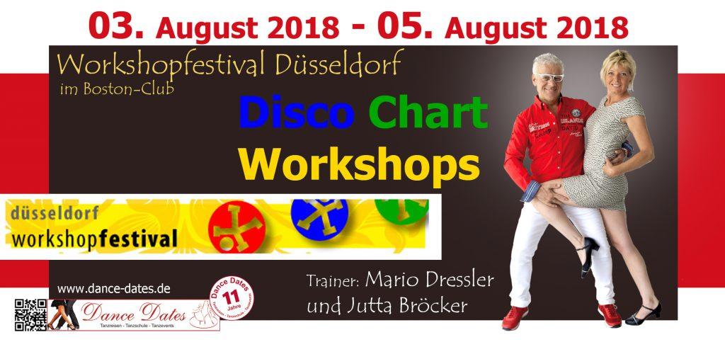Workshopfestival Düsseldorf – Disco Chart Workshops
