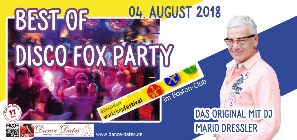 Best of Disco Fox Party – Das Original mit DJ Mario