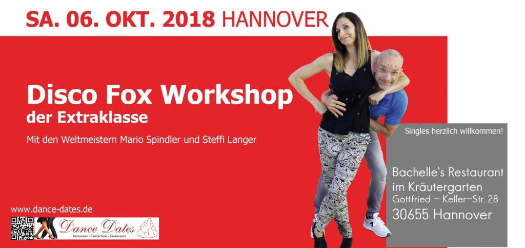 Disco Fox Workshops der Extraklasse in Hannover @ Bachelle´s Restaurant im Kräutergarten | Hannover | Niedersachsen | Deutschland
