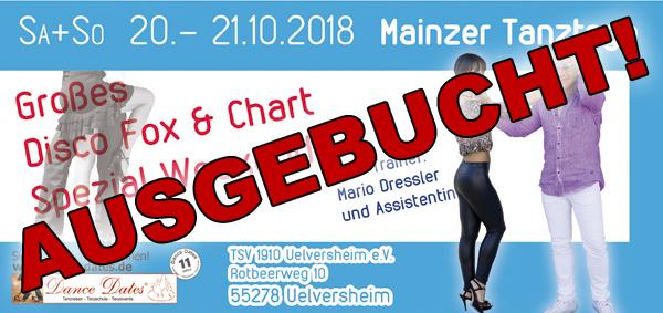 Mainzer Tanztage 2018 @ Dorfgemeinschaftshaus Uelversheim | Uelversheim | Rheinland-Pfalz | Deutschland