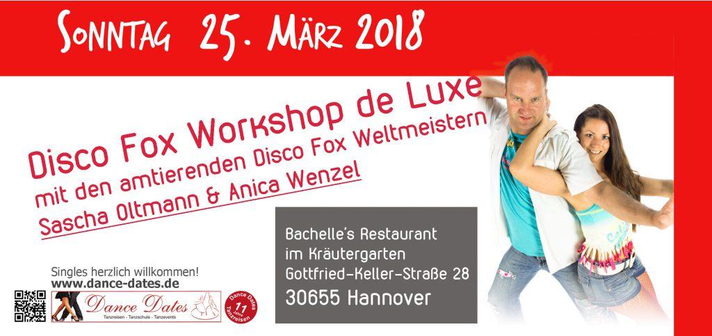 Disco Fox Workshop de Luxe in Hannover @ Bachelle´s Restaurant im Kräutergarten | Hannover | Niedersachsen | Deutschland