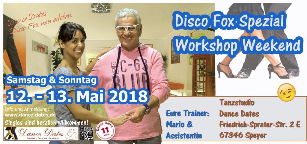 Disco Fox Technik Workshop Tanzstudio Speyer @ Tanzstudio Dance Dates | Speyer | Rheinland-Pfalz | Deutschland
