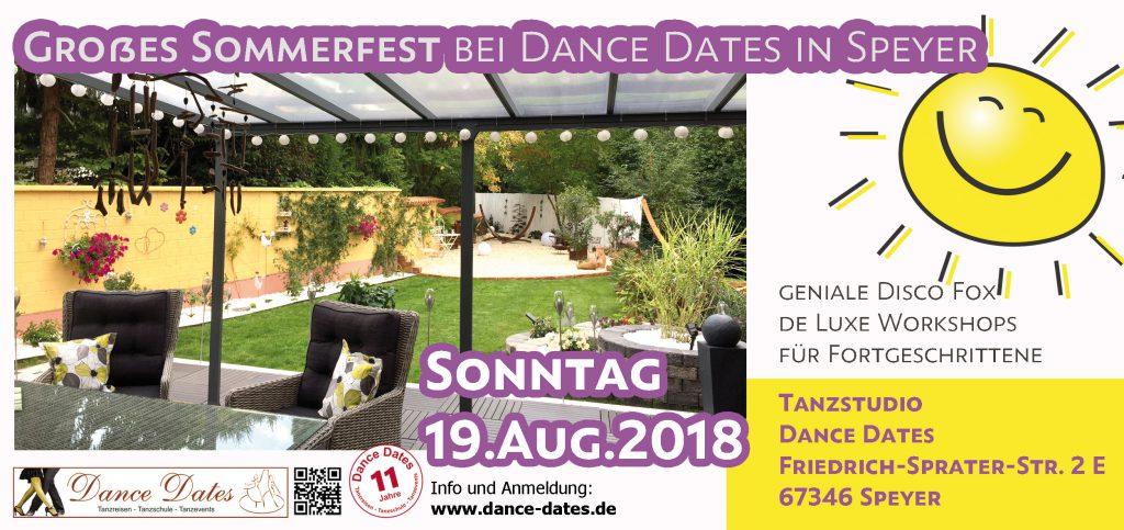 Großes Sommerfest bei Dance Dates in Speyer @ Tanzstudio Dance Dates | Speyer | Rheinland-Pfalz | Deutschland