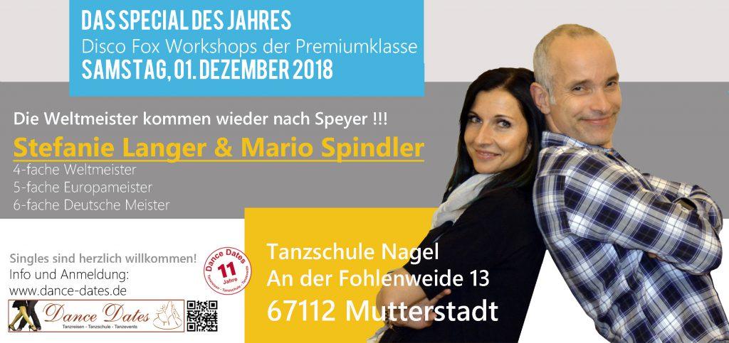 Disco Fox Workshops der Extraklasse in der Pfalz / Mutterstadt bei Speyer @ Tanzschule Nagel | Mutterstadt | Rheinland-Pfalz | Deutschland