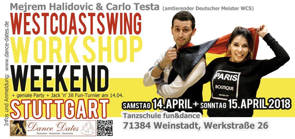 West Coast Swing Workshop Weekend in Weinstadt / Stuttgart @ Tanzschule Fun & Dance | Weinstadt | Baden-Württemberg | Deutschland