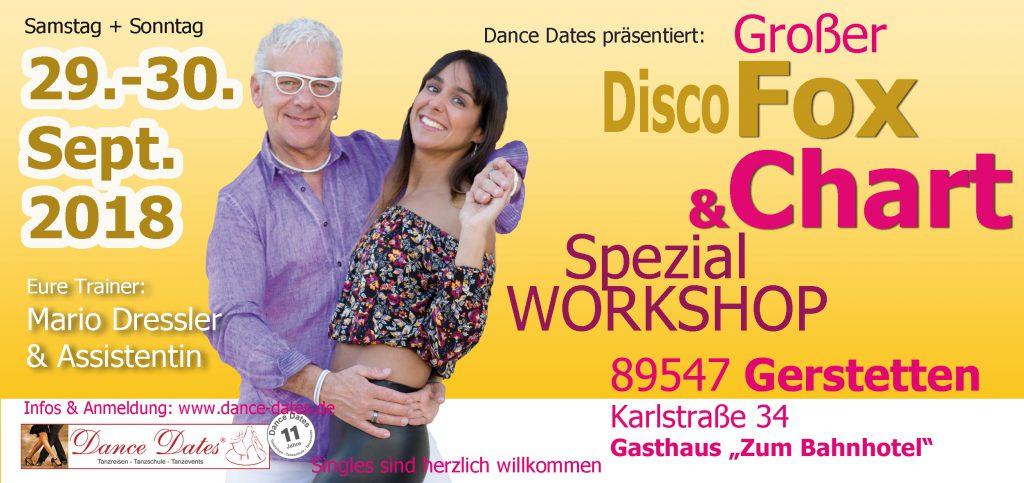 Disco Fox & Disco Chart Spezial Workshop Weekend in Gerstetten / Heidenheim @ Gasthaus zum Bahnhotel | Gerstetten | Baden-Württemberg | Deutschland