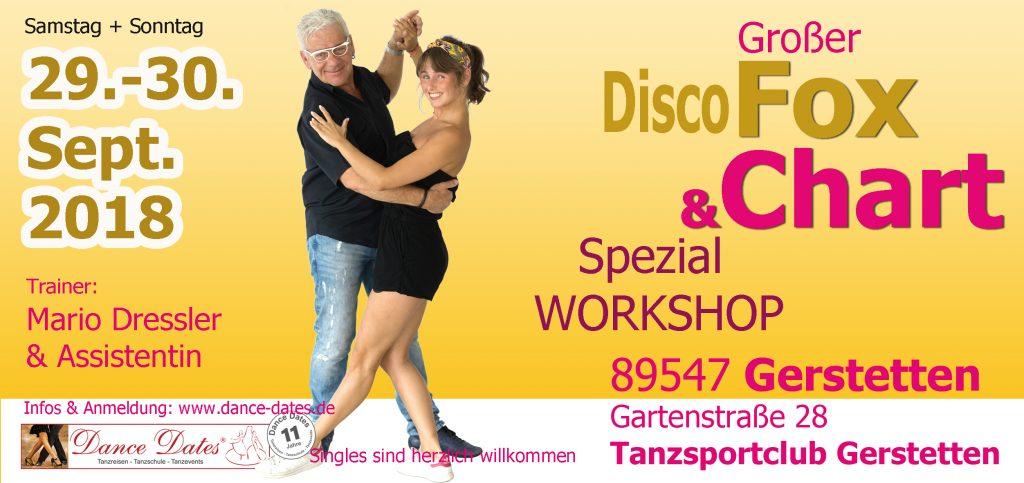 Disco Fox & Disco Chart Spezial Workshop Weekend in Gerstetten / Heidenheim @ Tanzsportclub Gerstetten | Gerstetten | Baden-Württemberg | Deutschland
