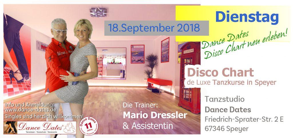 START: Disco Chart de Luxe Kurse in Speyer @ Tanzstudio Dance Dates | Speyer | Rheinland-Pfalz | Deutschland