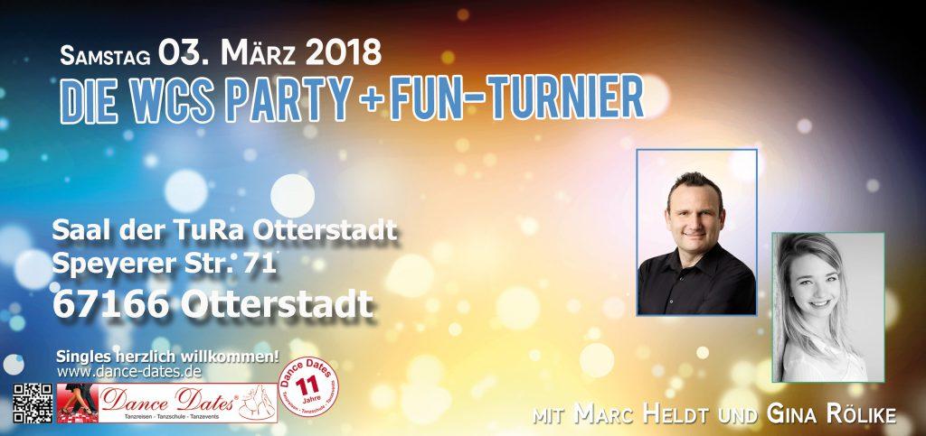 Die grosse WCS Party & Jack ´n´ Jill Fun Turnier in O-Town @ Saal der TuRa Otterstadt | Otterstadt | Rheinland-Pfalz | Deutschland