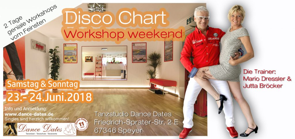 Disco Chart Workshop Weekend 2018 in Speyer @ Tanzstudio Dance Dates | Speyer | Rheinland-Pfalz | Deutschland