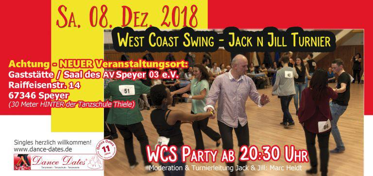 WCS Party & Jack ´n´ Jill Fun Turnier in Speyer @ Gaststätte / Saal des AV Speyer 03 e. V. | Speyer | Rheinland-Pfalz | Deutschland