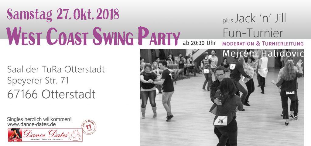 WCS Party & Jack ´n´ Jill Fun Turnier in O-Town @ Saal der TuRa Otterstadt | Otterstadt | Rheinland-Pfalz | Deutschland