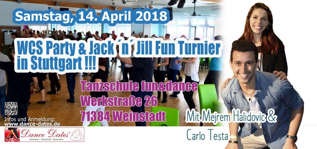 WCS Party & Jack ´n´ Jill Fun Turnier in Weinstadt @ Tanzschule Fun & Dance | Weinstadt | Baden-Württemberg | Deutschland
