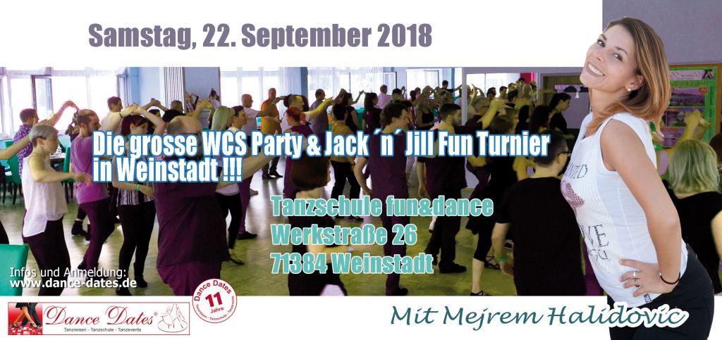 WCS Party & Jack ´n´ Jill Fun Turnier in Weinstadt @ Tanzschule Fun & Dance   Weinstadt   Baden-Württemberg   Deutschland
