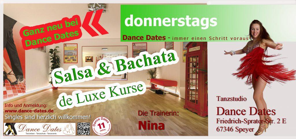 START: Salsa & Bachata de Luxe Kurse in Speyer @ Tanzstudio Dance Dates | Speyer | Rheinland-Pfalz | Deutschland